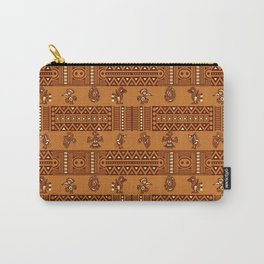 The Ethnic Birds Carry-All Pouch