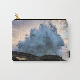 Monster Waves at Shore Acres State Park in Oregon Carry-All Pouch