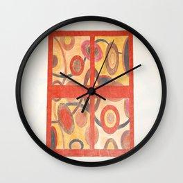 The window Wall Clock