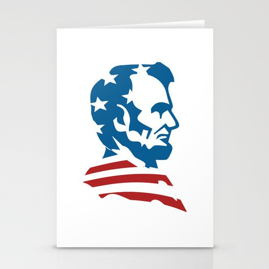 American Abe Stationery Cards