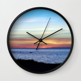 Sunset in the Clouds Wall Clock