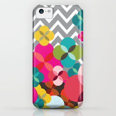Chevron Blooms iPhone 5c Slim Case