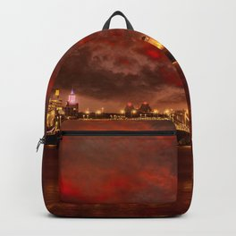 Boston Charles River Bridges Backpack