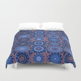 The Voyager of the Silk Duvet Cover