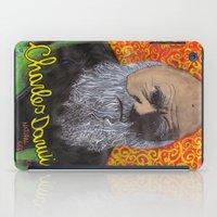 darwin iPad Cases featuring Charles Darwin by Ibbanez