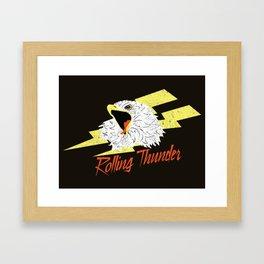 Screaming Eagle (Rolling Thunder) Framed Art Print