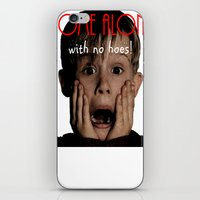 home alone iPhone & iPod Skins featuring Home Alone by Darius Malone