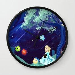 Worlds Away Wall Clock