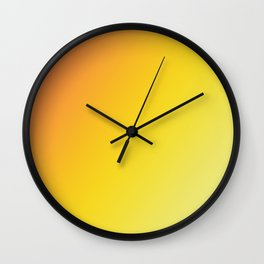 Blinding Sun - Gradients are the new colors Wall Clock
