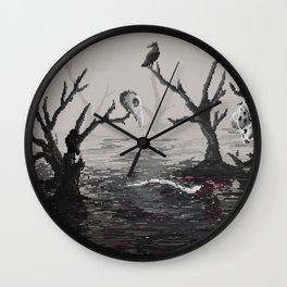 Lake of the dead Wall Clock