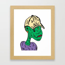 Estate Boy Framed Art Print