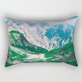 View of the majestic Madeira mountains Rectangular Pillow