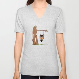 Come Swing With Me Unisex V-Neck
