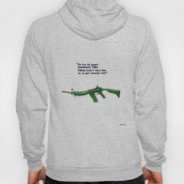 American Problems Pop-Art Gun Series #8 by Jéanpaul Ferro - 2nd Amendment Hoody