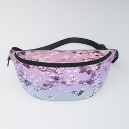 Unicorn Girls Glitter Stars #1 #shiny #pastel #decor #art #society6 Fanny Pack