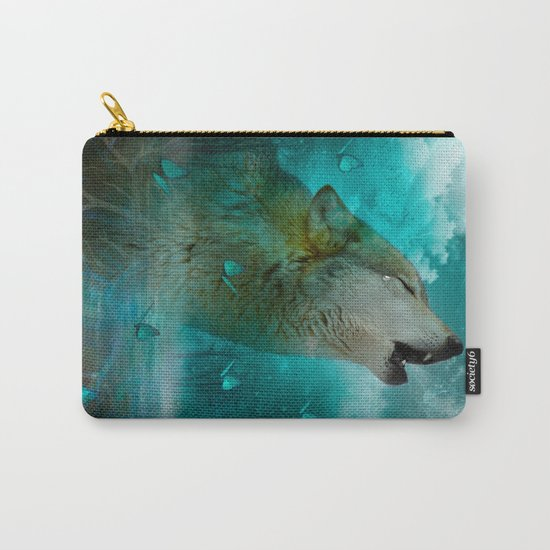 I'll See You In My Dreams (Cry of the Wolf) Carry-All Pouch