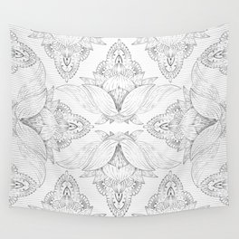 Flower Mandala 7 Wall Tapestry