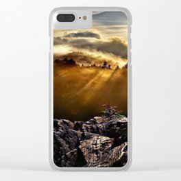 SMOKEY MOUNTAIN - 160918/1 Clear iPhone Case