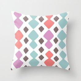Desert Blocks Throw Pillow