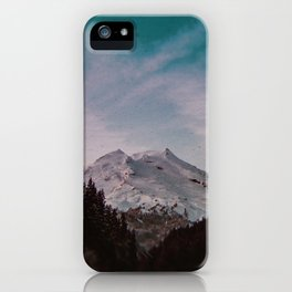 Pacific Northwest Mountain Magic Landscape iPhone Case