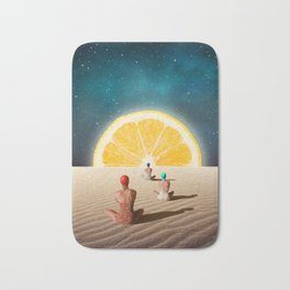 Desert Moonlight Meditation Bath Mat
