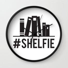 #shelfie Wall Clock