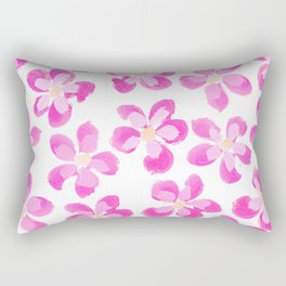 Posey Power - Fuxia Multi Rectangular Pillow