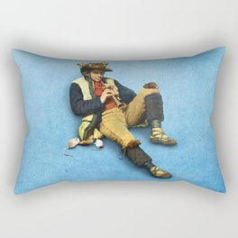 The Piper of Hamelin Rectangular Pillow