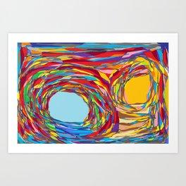 Crossroad Art Print