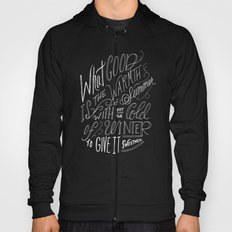 WINTER - Steinbeck Quote Hoody