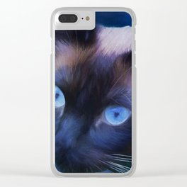 Sulley Blues Clear iPhone Case