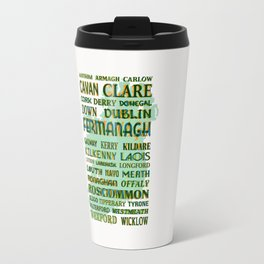 32 Counties Of Ireland Travel Mug