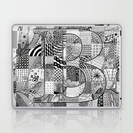 The Letter B Laptop & iPad Skin