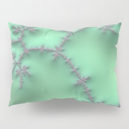 Mint and Lavender Pillow Sham