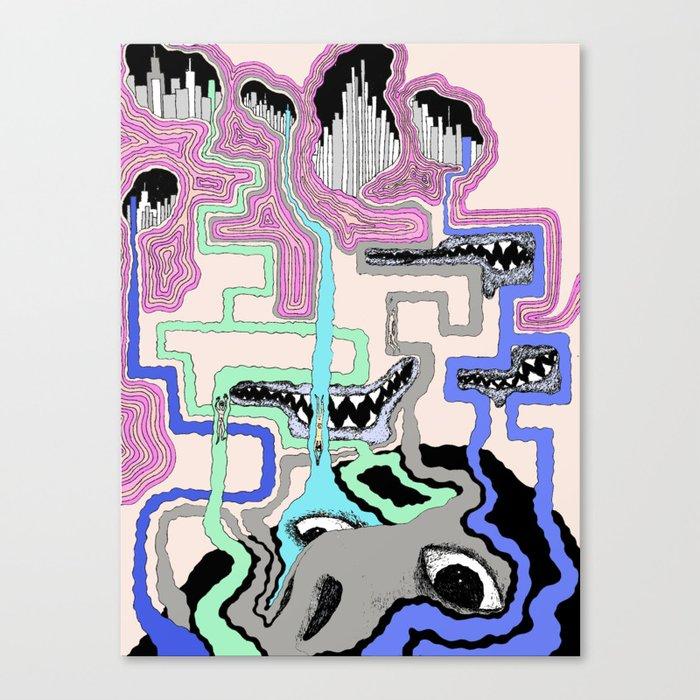 Strange Vision Canvas Print