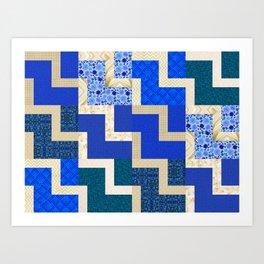 Quilt One Art Print