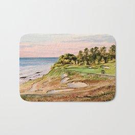 Whistling Straits Golf Course 17th hole Bath Mat