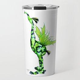 Fantasy Bird Gobi Travel Mug