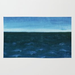 Night sea Rug
