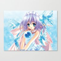 anime Canvas Prints featuring Anime by Just Be Love