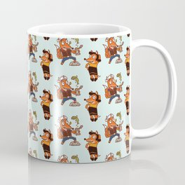 Popeye And Olive Fox Coffee Mug