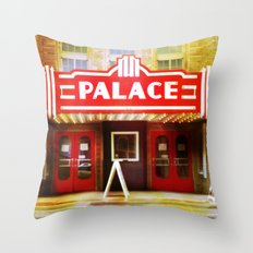 The Palace Theater Throw Pillow