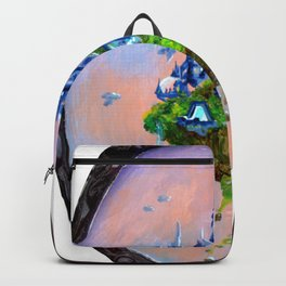 """"""" Home 5 """" by Adam France Backpack"""