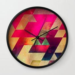 syx nyx Wall Clock
