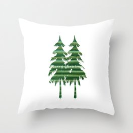Happy Holiday - Holidaze Throw Pillow