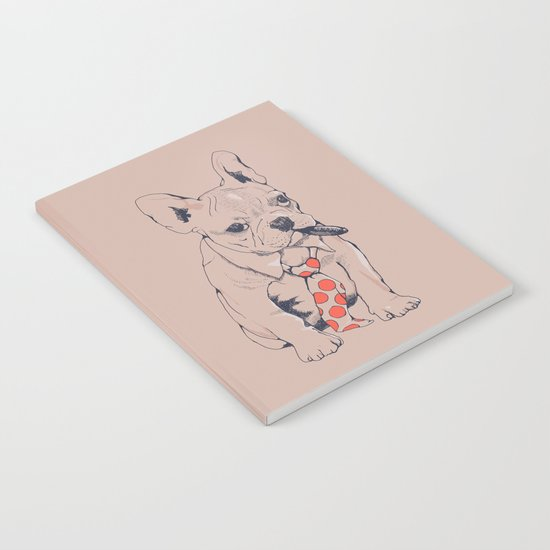 FRENCH BULLDOG BOSS Notebook