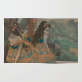 Edgar Degas - Ballet Dancers Rug