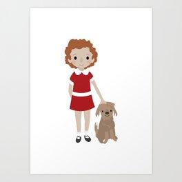 Annie Art Print