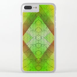 digital texture Clear iPhone Case