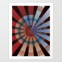 patriotic Art Prints featuring Patriotic by Chris Cooch